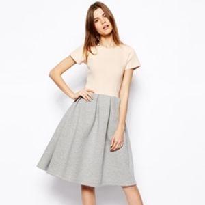 ASOS Premium Scuba Midi Dress